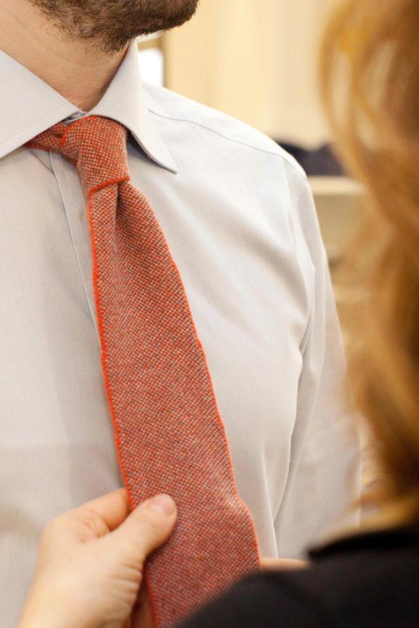 cravatta uomo maglificio tonello