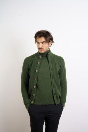 Giacca con lavorazione in maglia - Maglificio Tonello