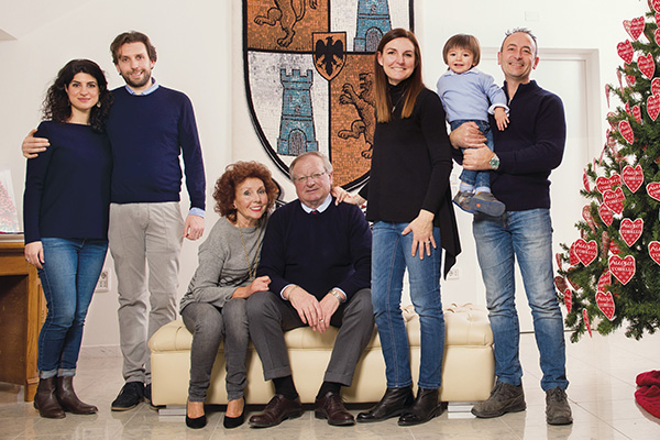 famiglia tonello azienda maglificio